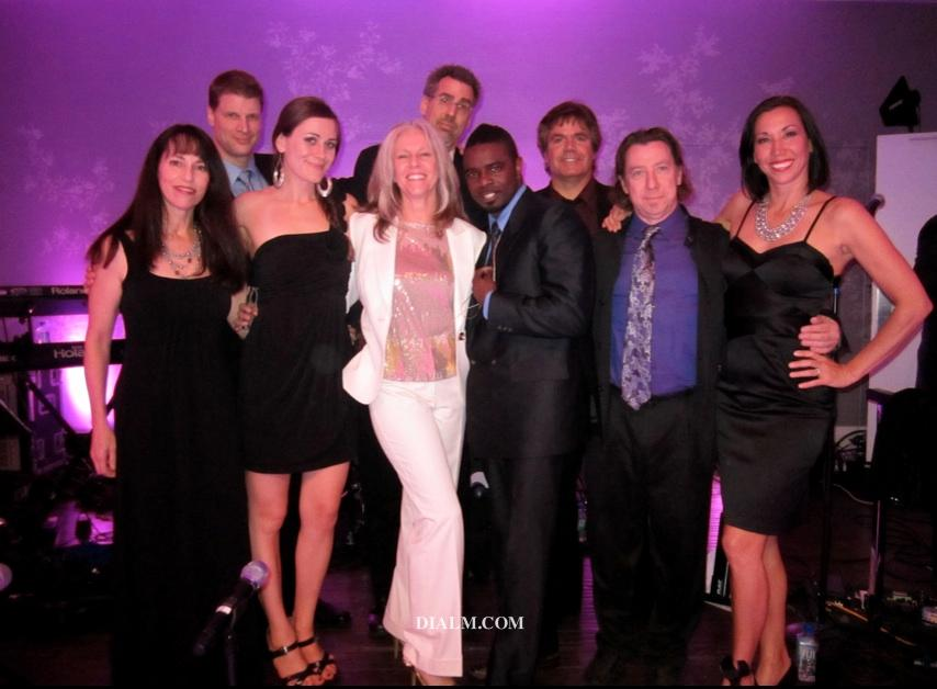 Los Angeles Dance Cover Band The Groove Band with Dial M Producer Peggy Phillips 2012 by dialm.com