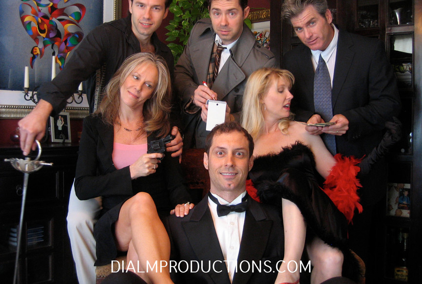 Dial M Murder Mystery Whodunnit