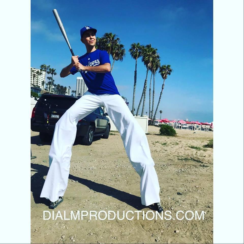 Baseball Dodgers Stilt Walker by Dial M