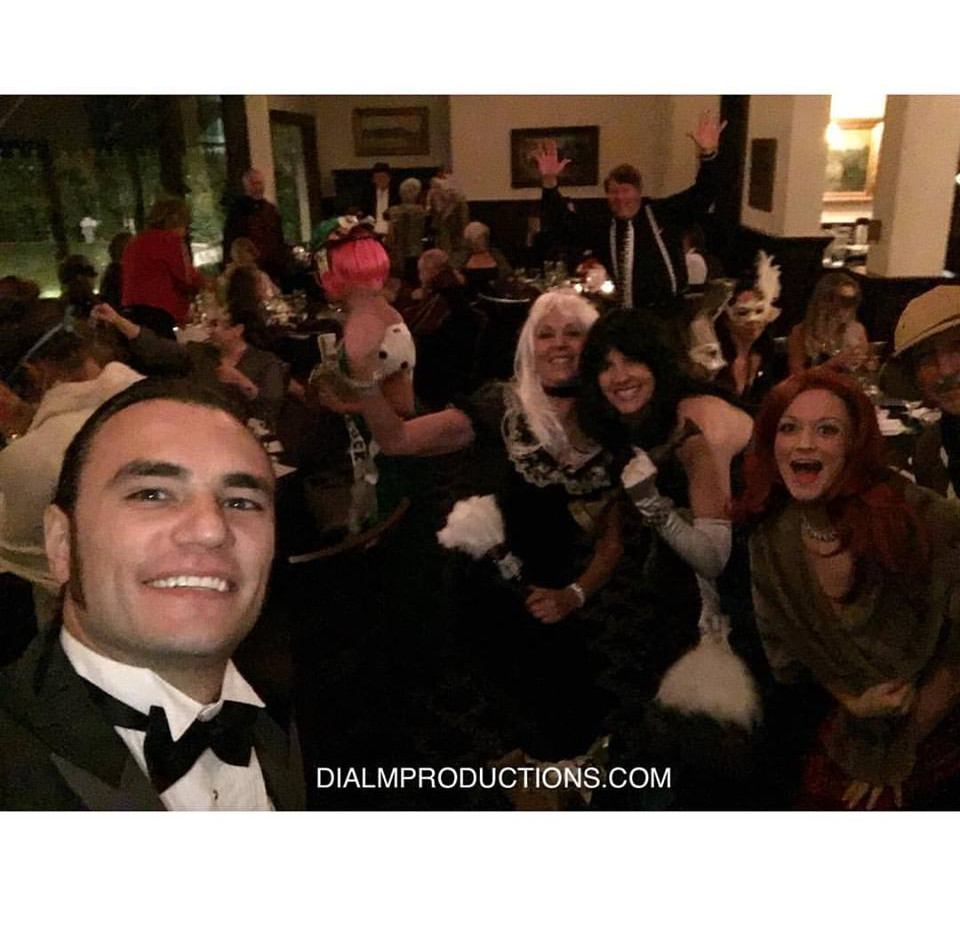 Clue Murder Mystery Party - Lot's of fun