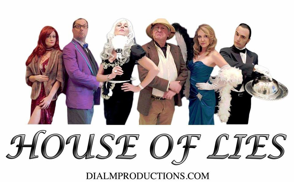 House of Lies - Dial M Murder Mystery CLUE Whodunnit