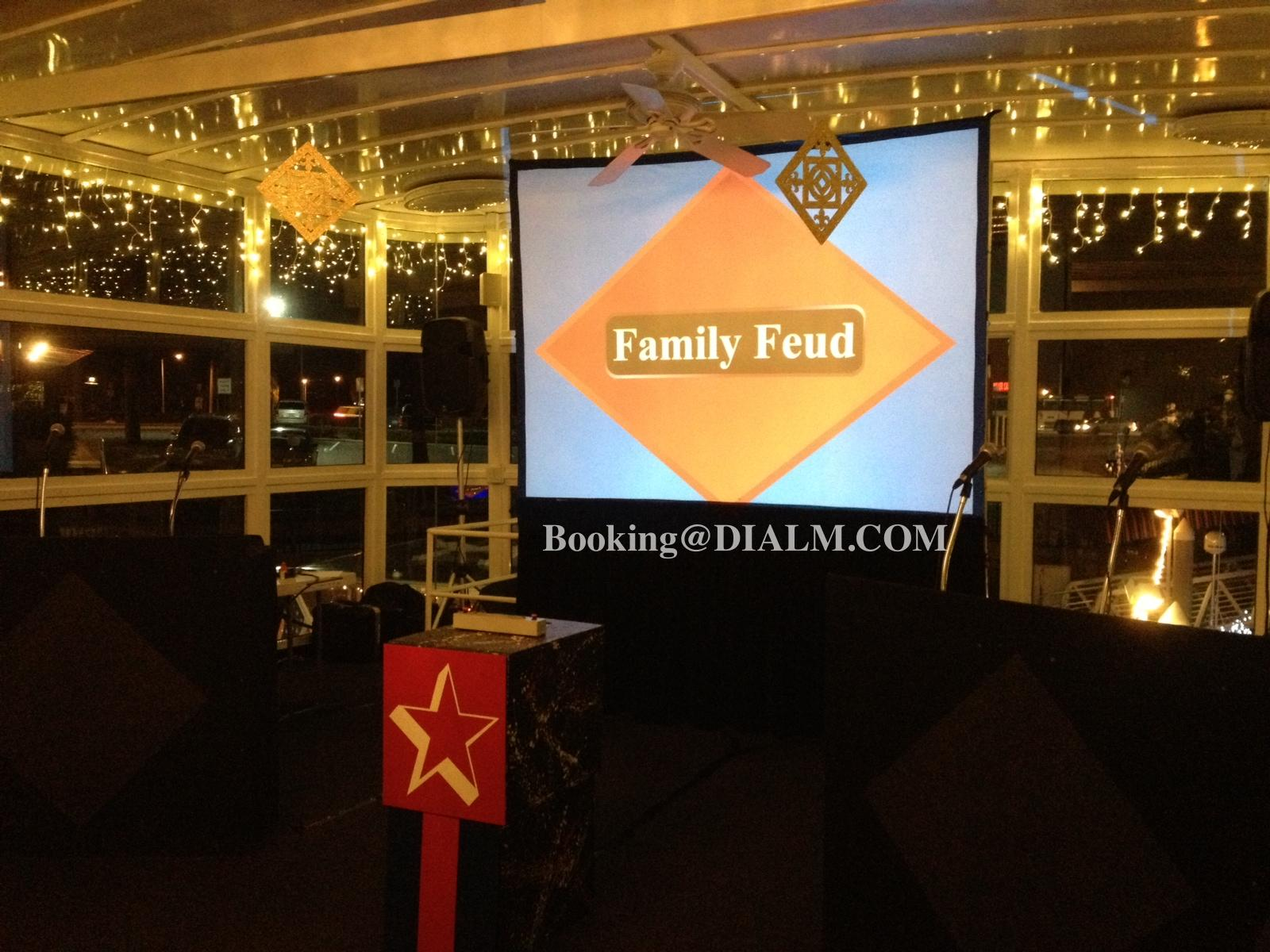 Corporate Family Feud Game Show LA