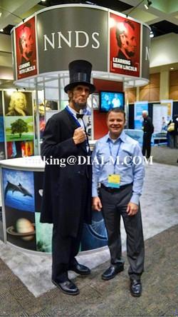 Abe Lincoln Lookalike Tradeshow