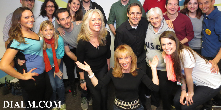 Kathy Griffin at our Team Building Workshop Dial M