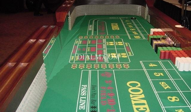 Craps 12' Table For Rent