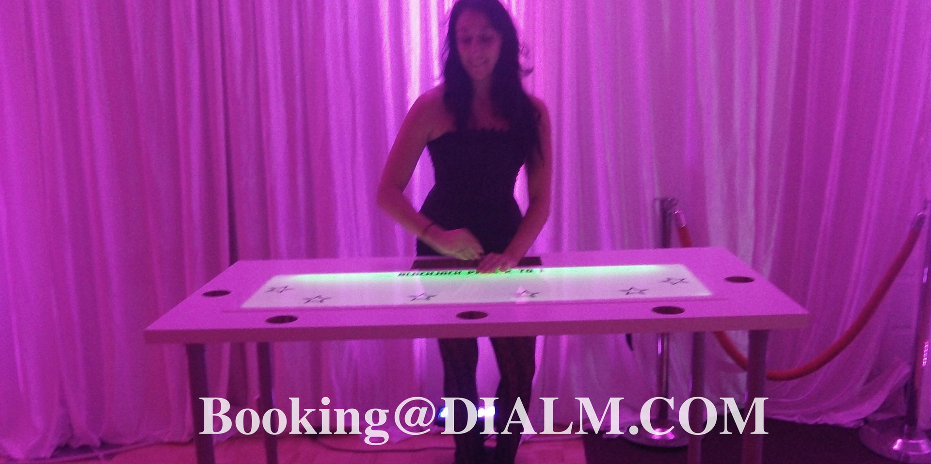 Casino tables that light up by dialm.com