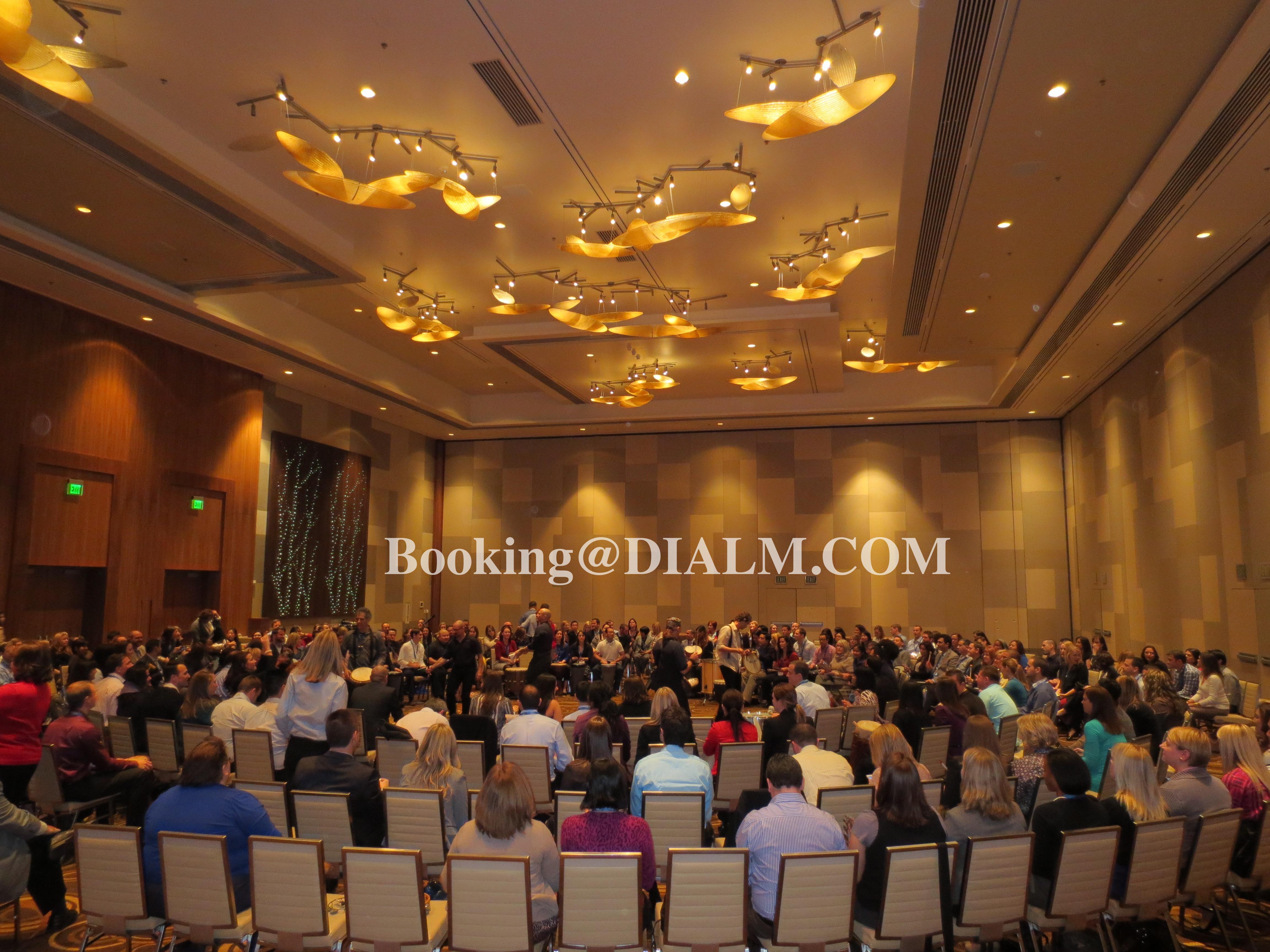 Drum Circle 300 Participants