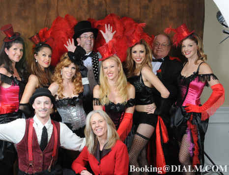 Moulin Rouge Theme Party Cast