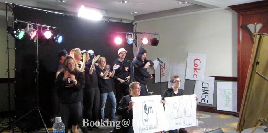 Music Video Team Building Event