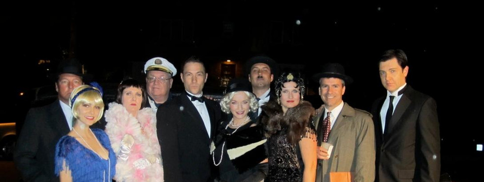 Cat's Meow Cast Hollywood Murder Mystery