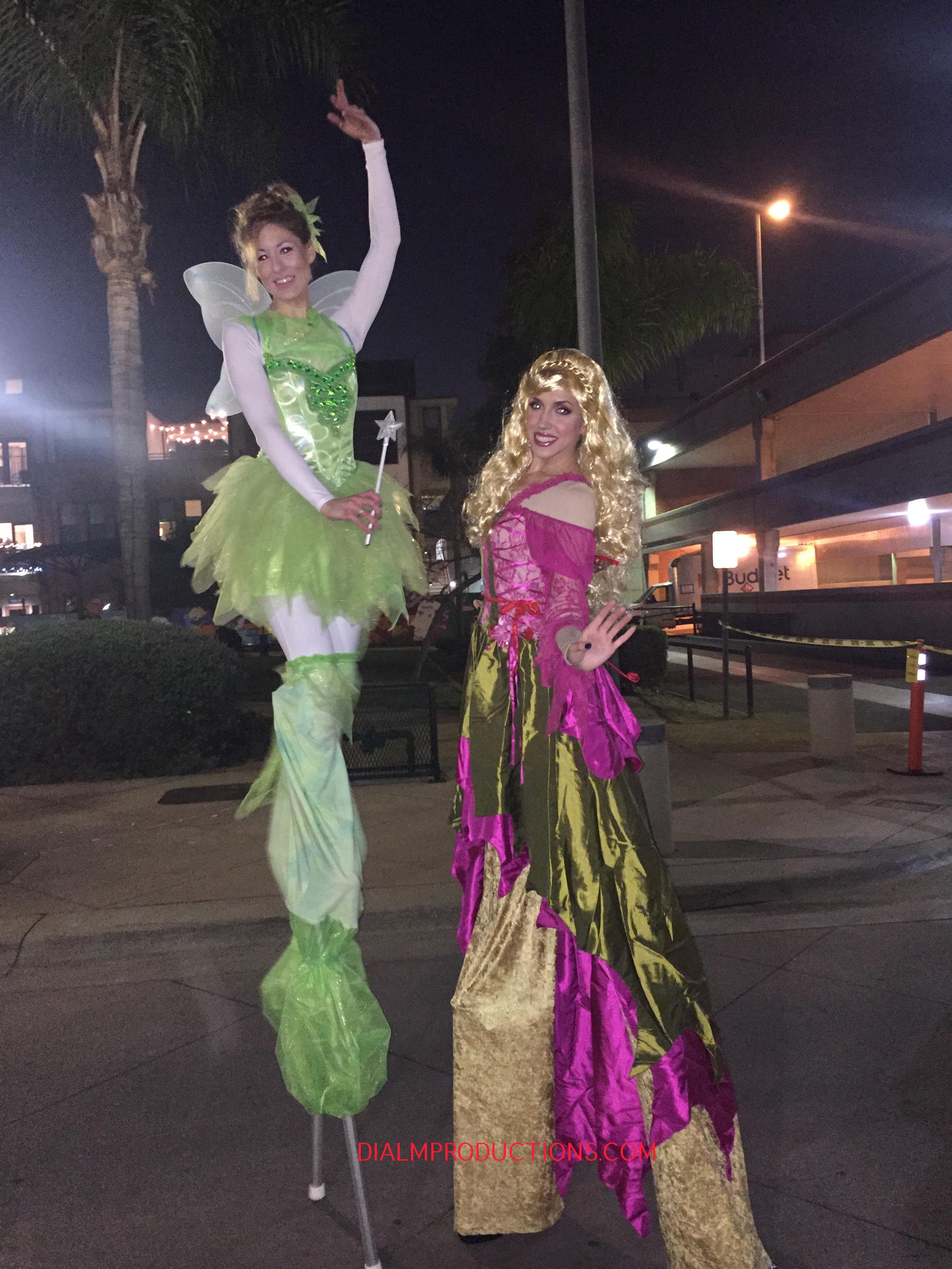 Fairy Stilt Walkers DialM