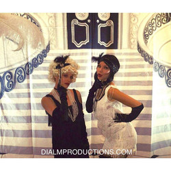 Cigar Girls 1920's theme party DialM