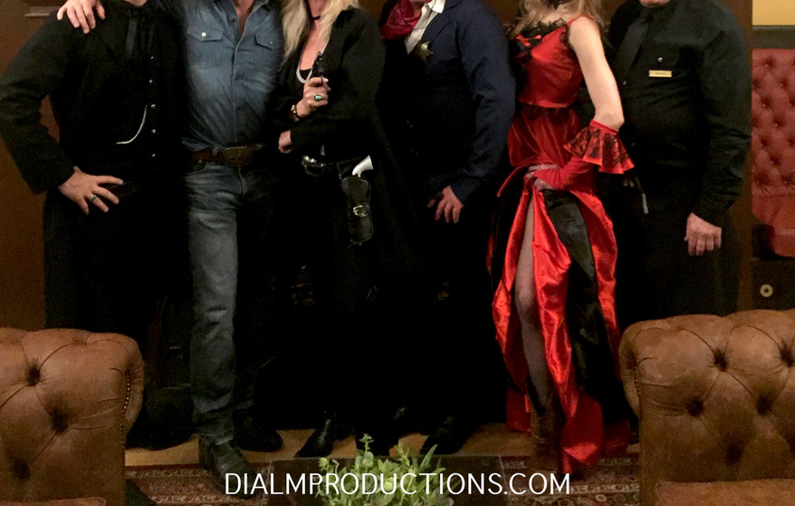 Western Murder Mystery Cast