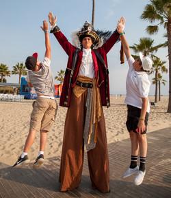 Pirate Stilt Walker DialM