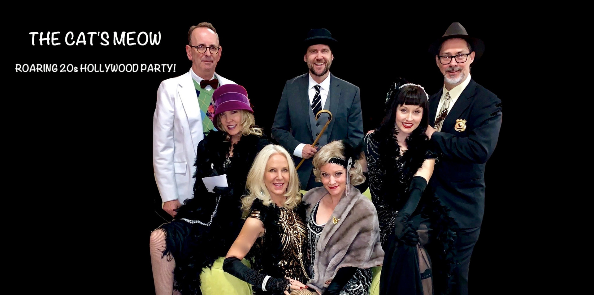 The Cast Cat's Meow Roaring 20s Hollywoo
