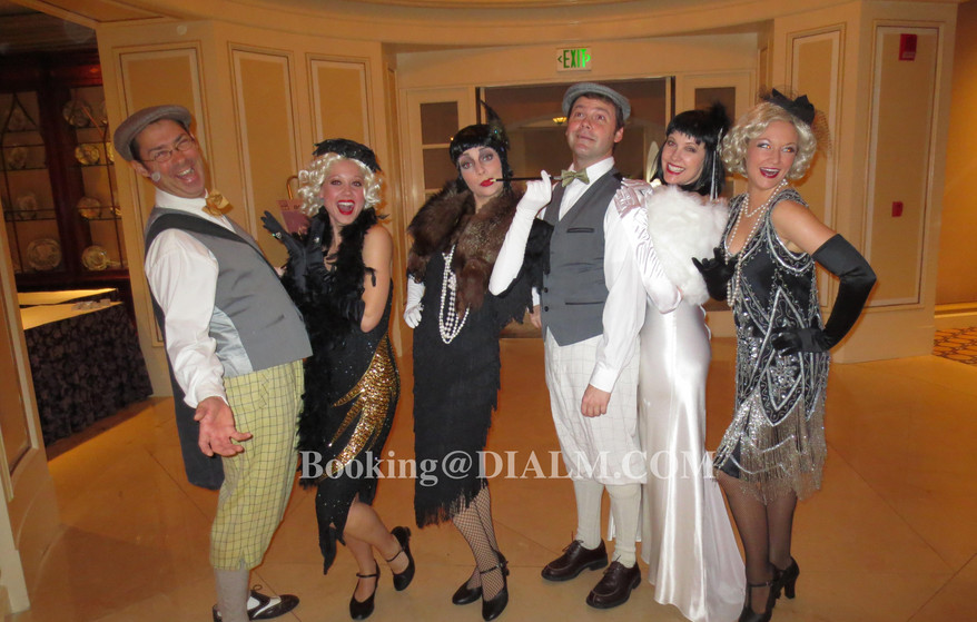 1920's Gatsby Murder Mystery Characters DialM