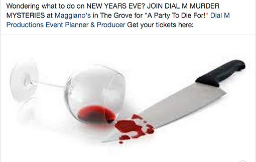 Maggiano's New Year's Eve Murder Mystery