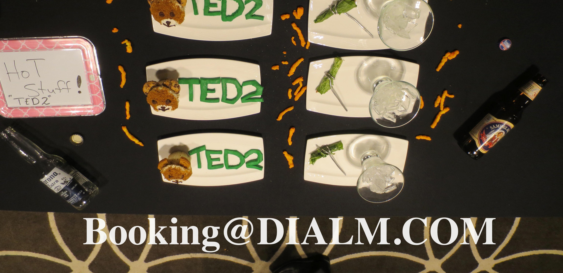 Ted 2 presentation 3 Culinary Challenge
