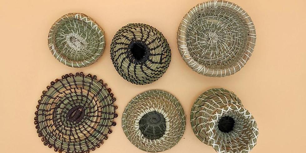 Basket Weaving & Wine