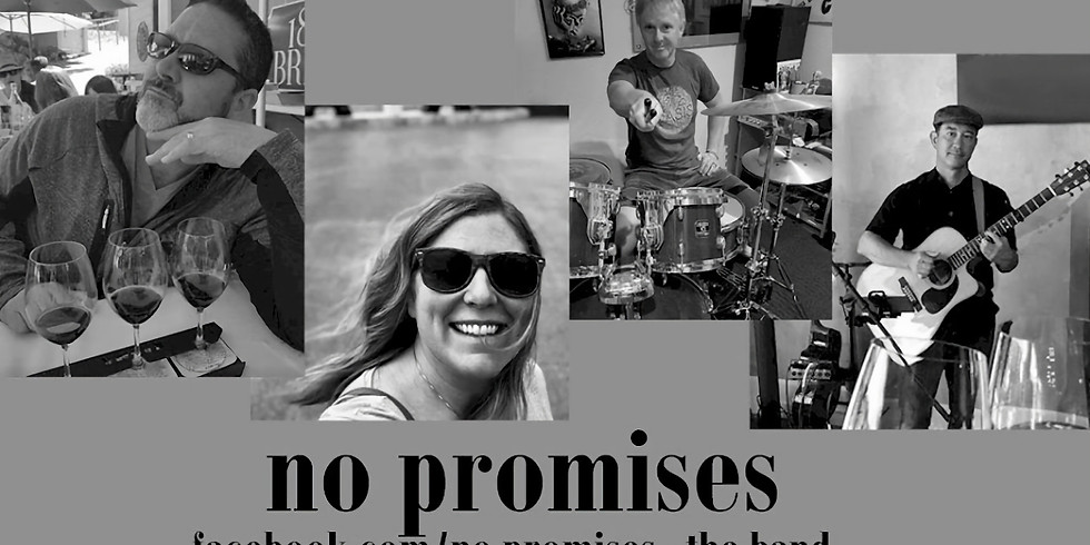 No Promises on the patio