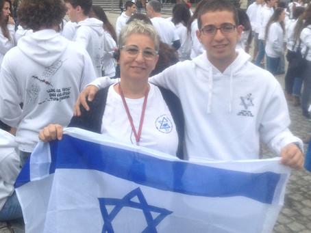 ג'ויה חסון, מורה ואמא - בית הספר משגב 2014