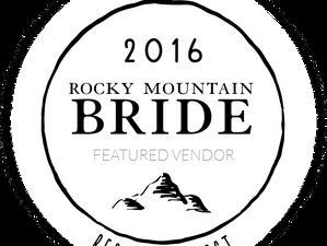 Rocky Mountain Bride ~ Feature
