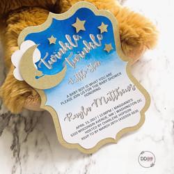 Twinkle Twinkle  Invitations