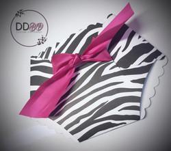 Baby diaper baby shower invitations