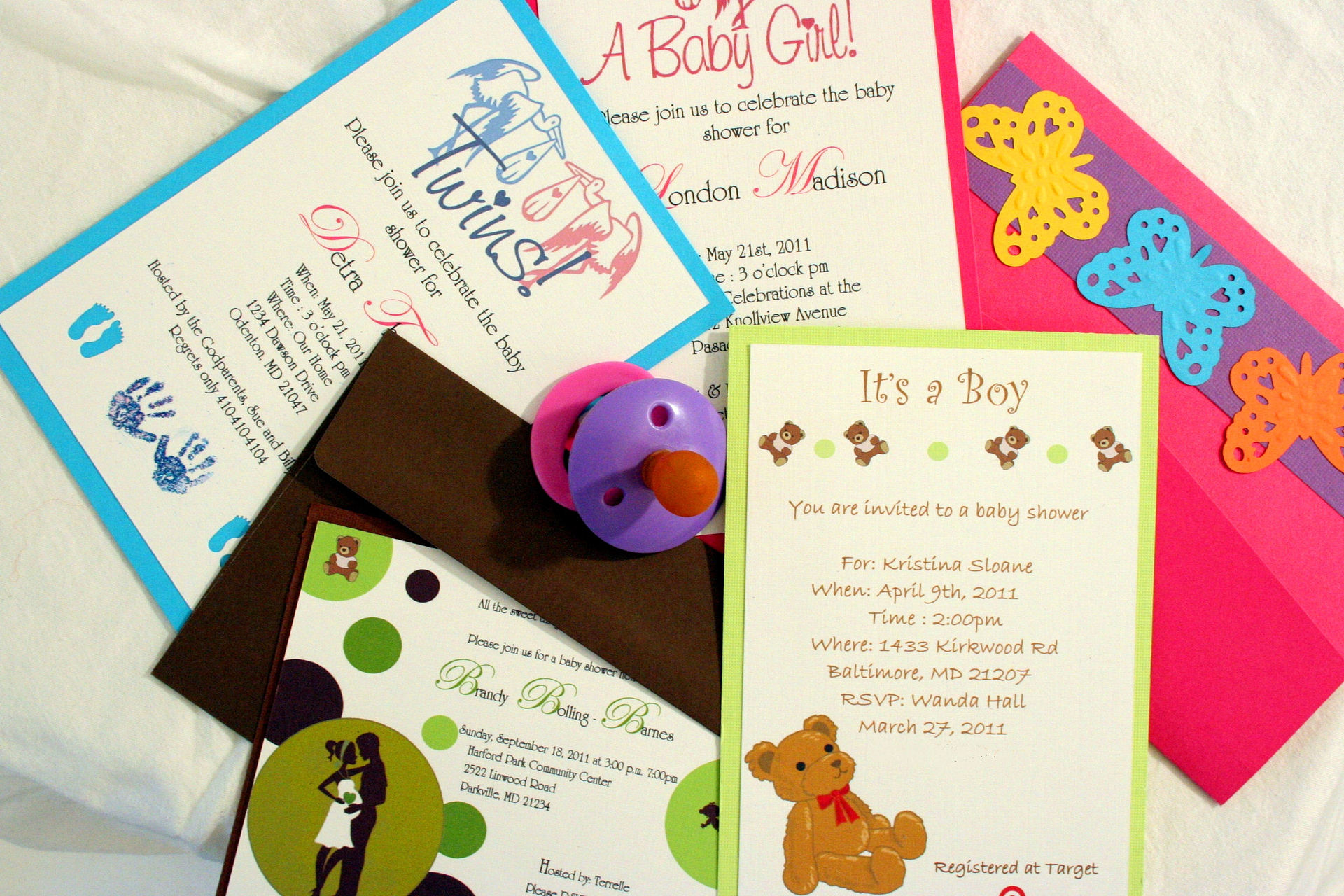 Baby shower invitaitons