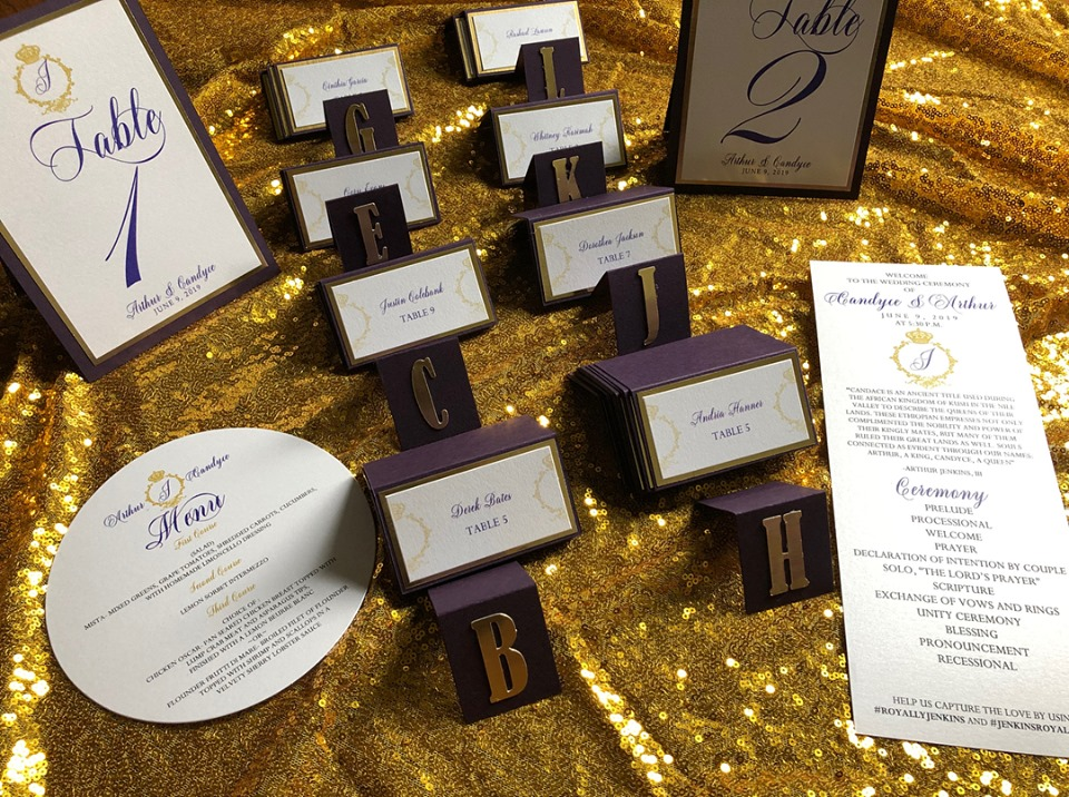 Reception stationery 1