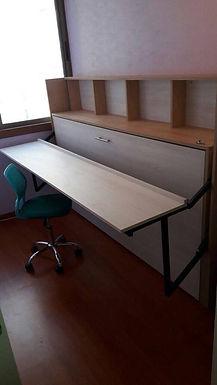 Cama escritorio 1 plaza cariblanco