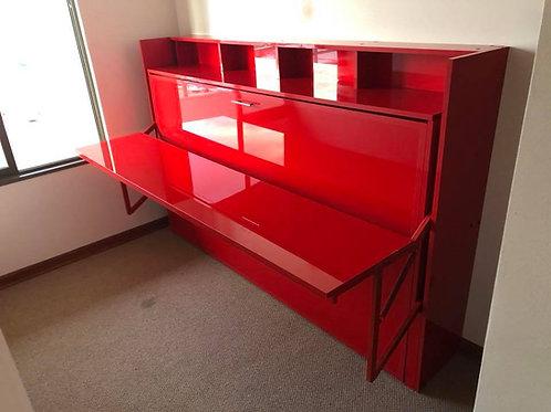 Cama escritorio dinamico Rojo brillante