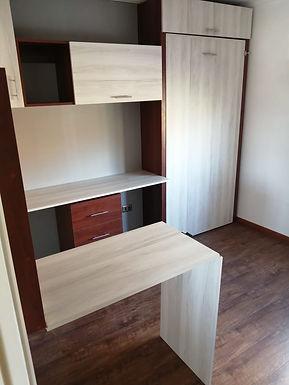 Cama Plegable 1Plaza + Escritorios y Home Office