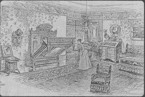 ilustración-cama-plegable-abatible-antiguedad