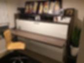 cama plegble con escritorio