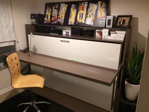 Cama plegable escritorio dinámico 1.5 plazas