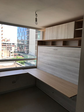 Cama 2 Plazas Horizontal - Home Office