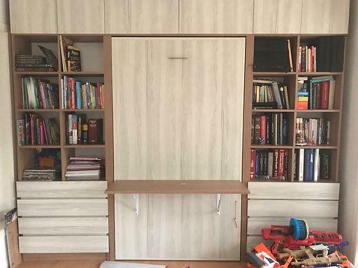 Cama Escritorio Abatible Mueble lateral