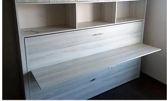 Cama escritorio abatible 1 plaza