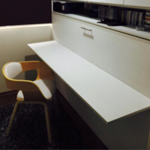 Cama escritorio abatible 1.5 plazas