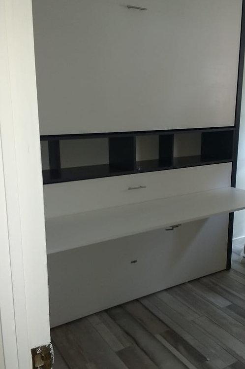 Camarote / Litera escritorio abatible