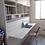 Thumbnail: Cama Plegable 1 o 1 plaza 1/2 + escritorio abatible + mueble superior a medida