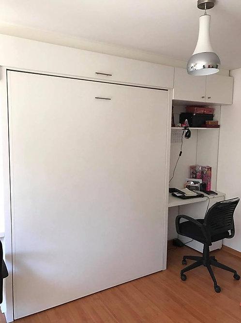 Cama 2 Plazas Vertical + Escritorio Latera