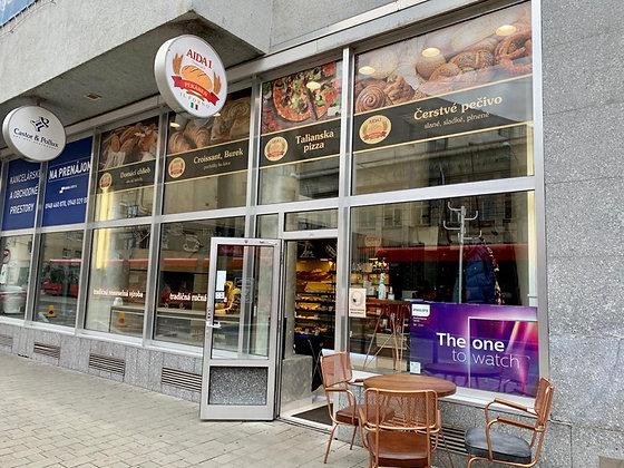 Prenajmeme obchodný priestor v centre Bratislavy