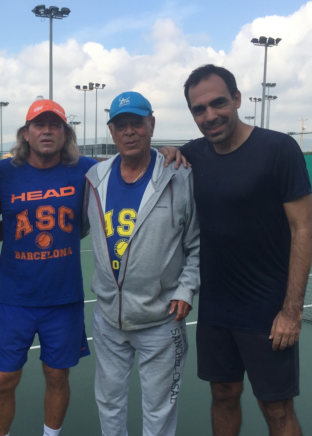 Daniel Sorribas (Left) Pato Alvarez (Center) Daniel Cruz (Right)