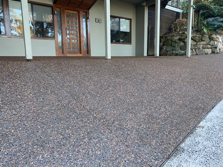 Mason Concreting - Exposed Aggregate - Kembla