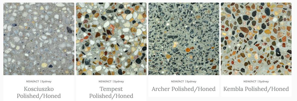 Honed Concrete - Polished Concrete