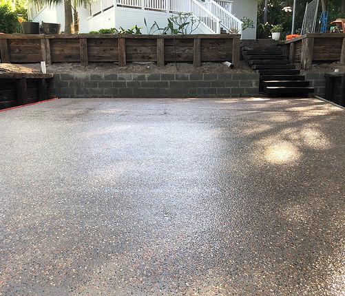 Mason Concreting - Exposed Aggregate - P