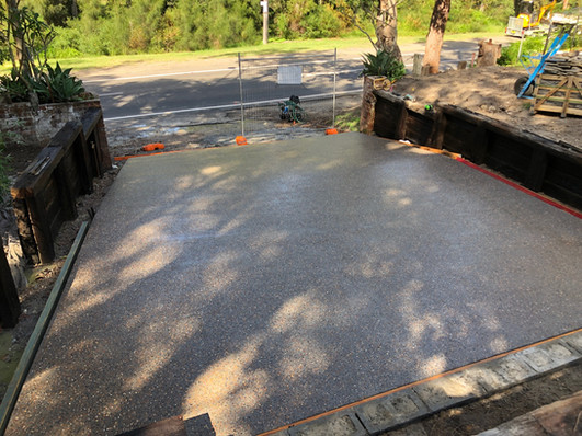 Mason Concreting - Exposed Aggregate