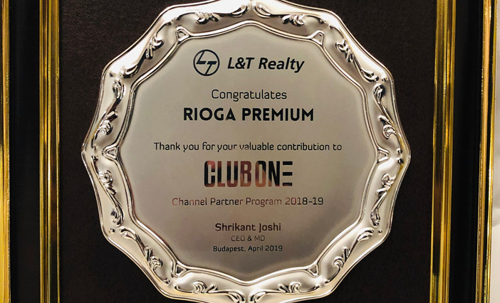 L&T Realty Club One Award